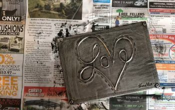 Metal Embossing Tips – Patina Process for Pewter and Aluminium