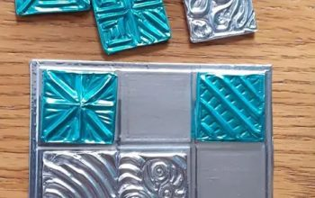 11 Interesting ways to use metal offcuts in metal embossing