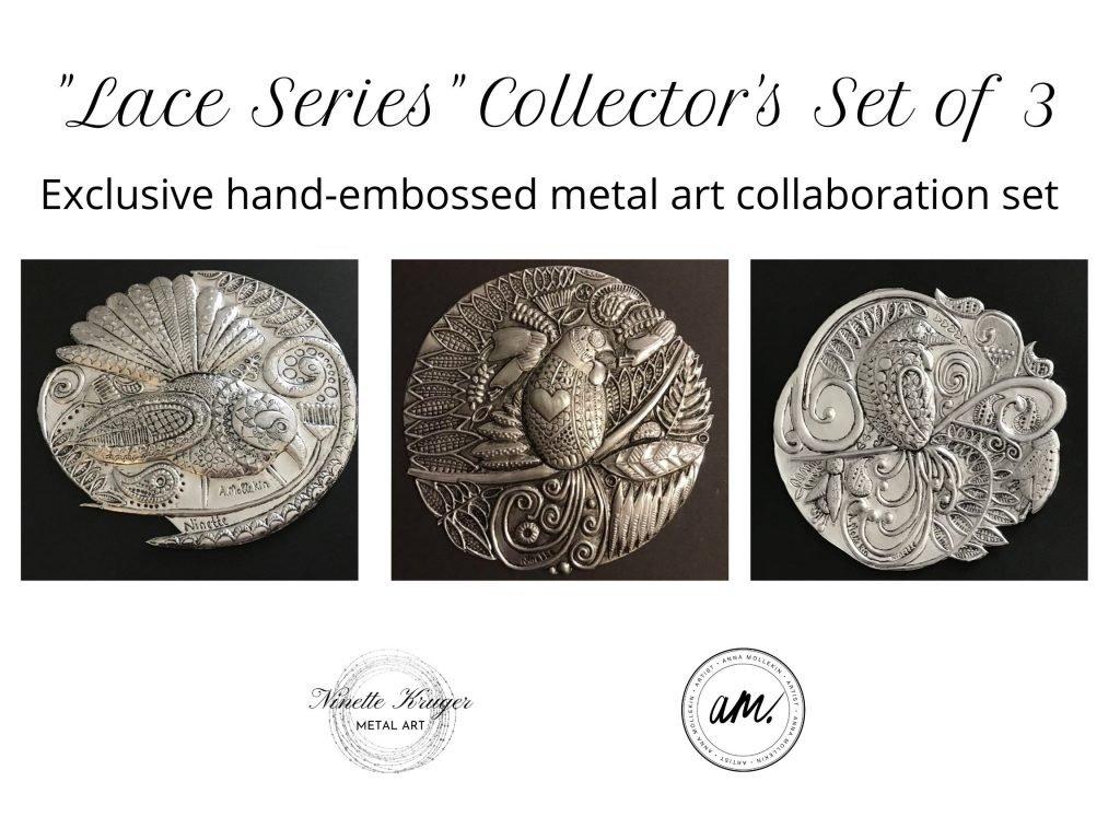 New Zealand Metal Bird Art Collector's Set
