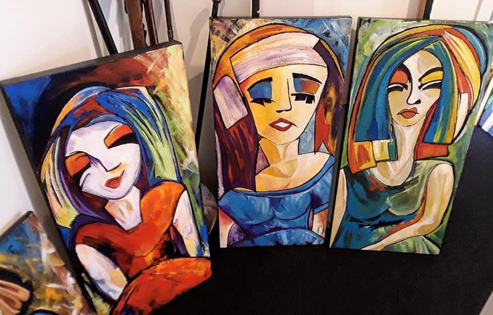 Painting by artist Pamela Painter