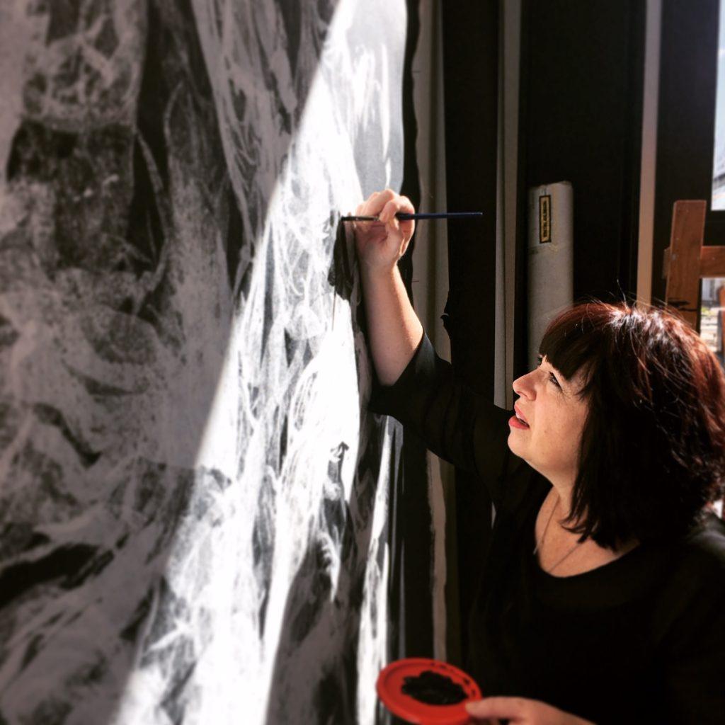Tauranga artist Lynette Fisher